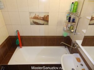 Ремонт ванной комнаты поэтапно