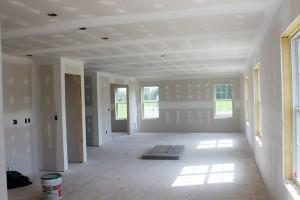 ремонт в доме - отделка гипсокартоном